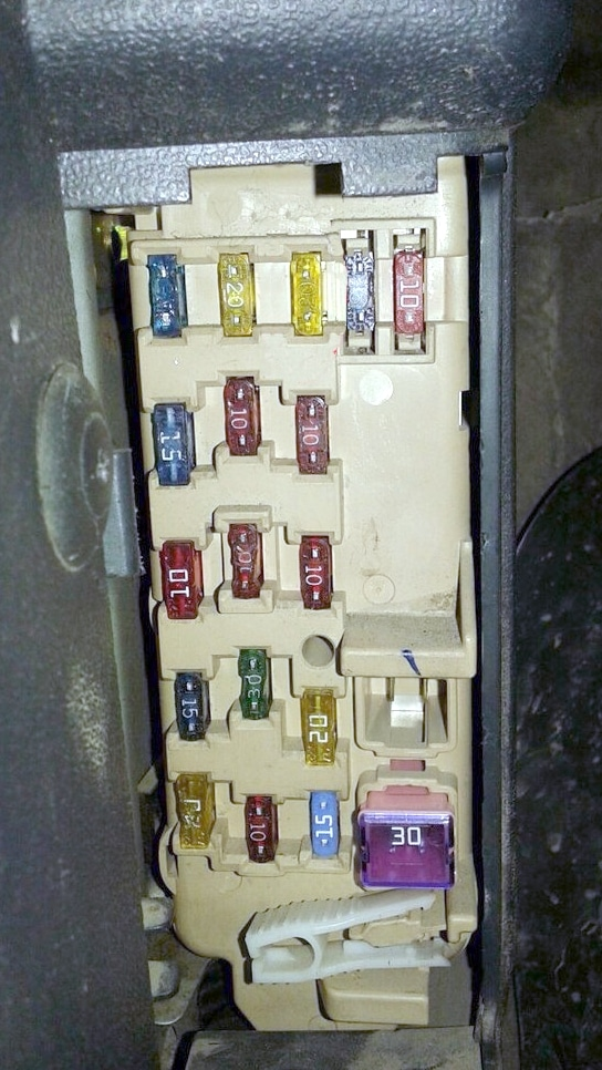 fuse box diagram mazda millenia (xedos 9) realy their location and  assignment  about fuses and relay